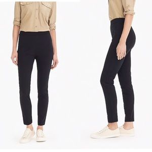 NWOT J Crew GREEN Any Day Pant In Eco Ponte XXS